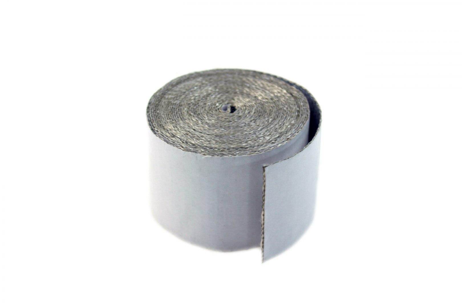 Taśma termiczna TurboWorks 50mm x 0.8mm 4.5m Aluminiowa - GRUBYGARAGE - Sklep Tuningowy